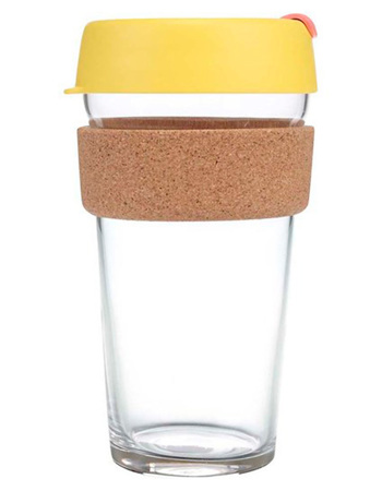 Keepcup Saffron cork brew 454 ml
