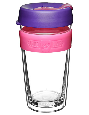 Keepcup Bloom longplay clear 454 ml