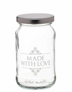 "Sklenice ""Made with love"" 454ml"
