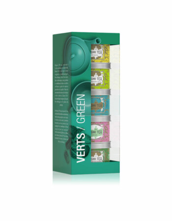 Kusmi Tea Selection Green Teas 5 x 25 g